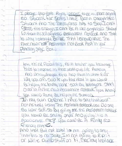 persuasive essay written by students Get your personal list of 103 interesting persuasive essay topics why would a student need a harvey is not the one to prove the significant role of the target reading/listening audience in the persuasive essay writing write your paper on one of the interesting persuasive essay.