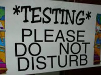 Testing Does Not Equal Teaching